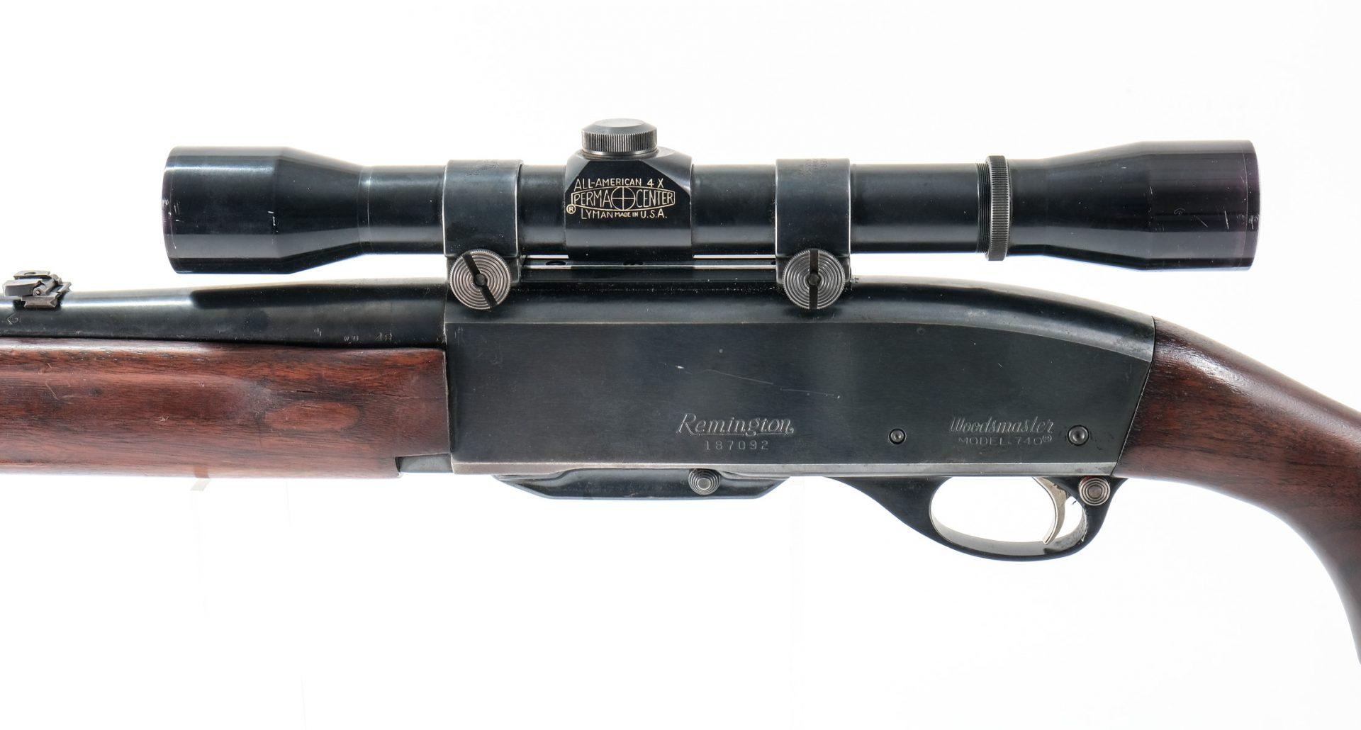 Remington woodsmaster 740 serial numbers