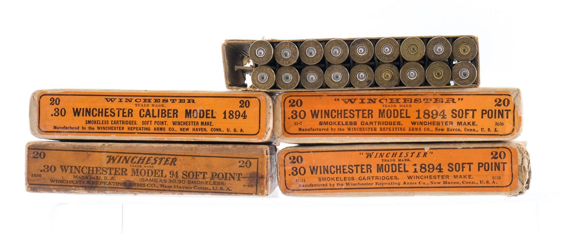 30-30 WIN 9.3x74R Ammunition 124Rds