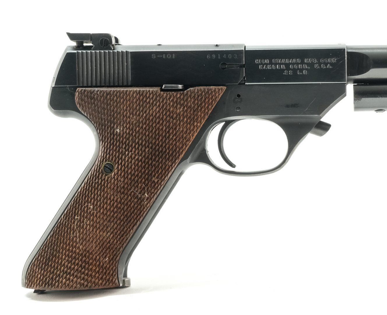 Hi-Standard Supermatic S-101 .22 LR Pistol