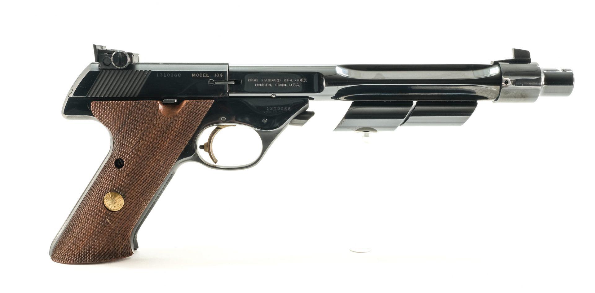 Hi-Standard Supermatic Trophy 104 .22LR Pistol