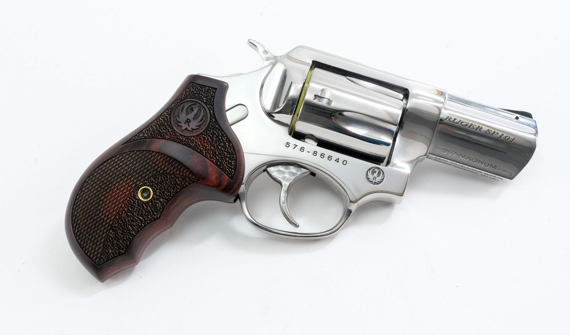 Ruger SP101 High Polish Stainless Revolver .357