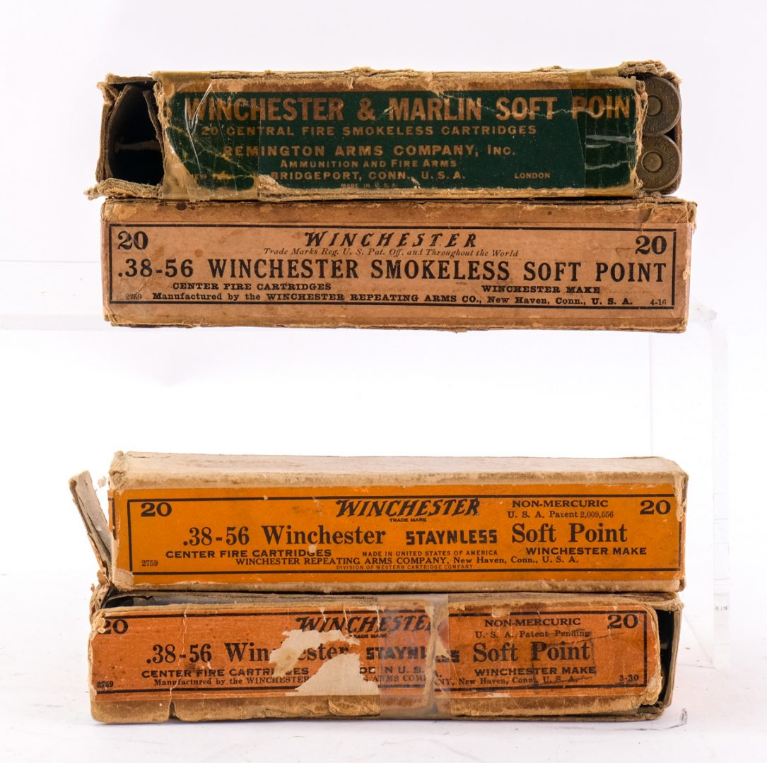 Winchester .38-56 Soft Point Ammo 4 Boxes