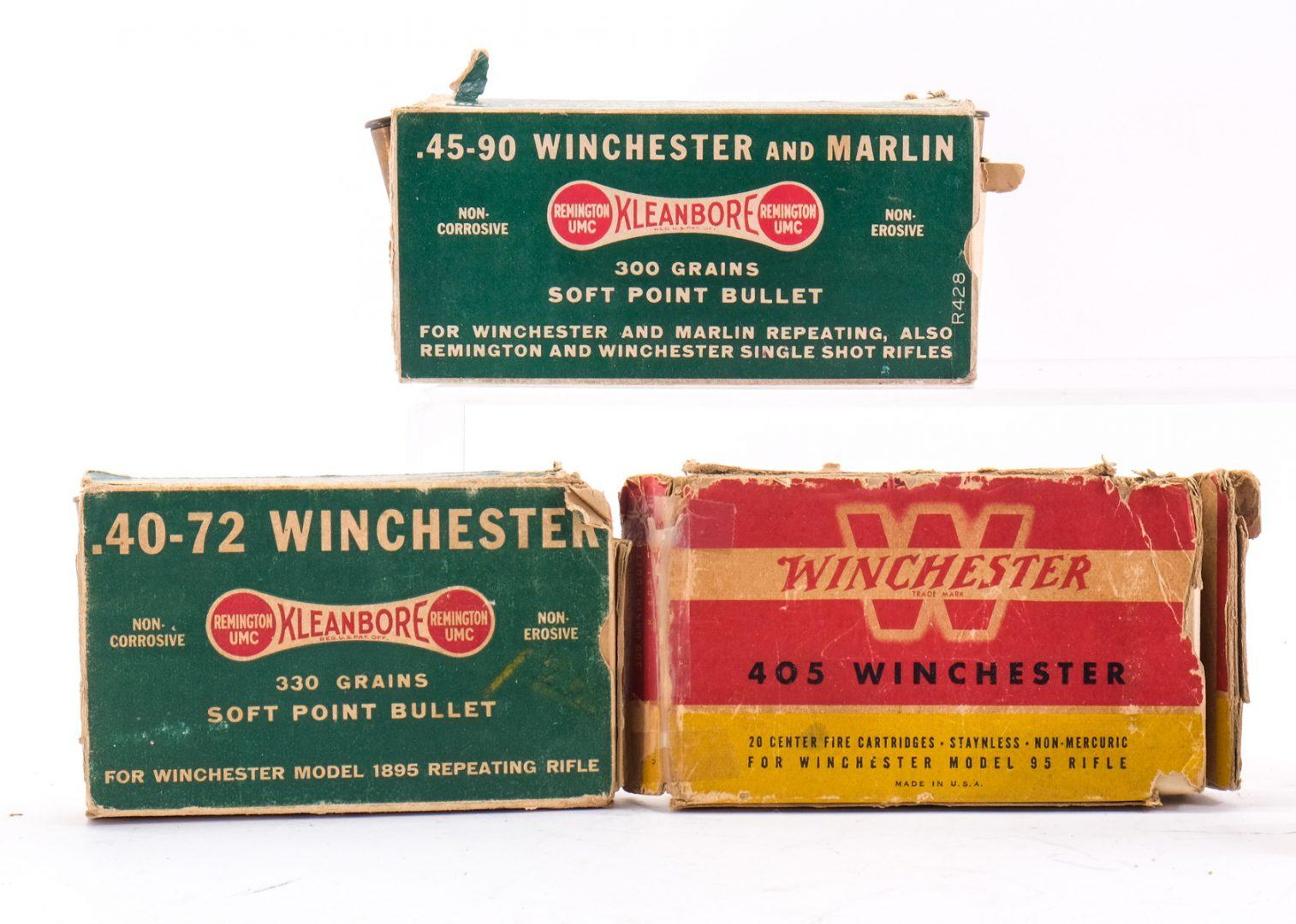 Winchester / Remington Antique Ammunition 7 Boxes